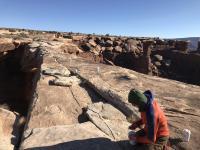 Placing Nodal Seismometers on Utah's Musselman Arch