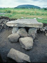 Tomb at Carrowmore