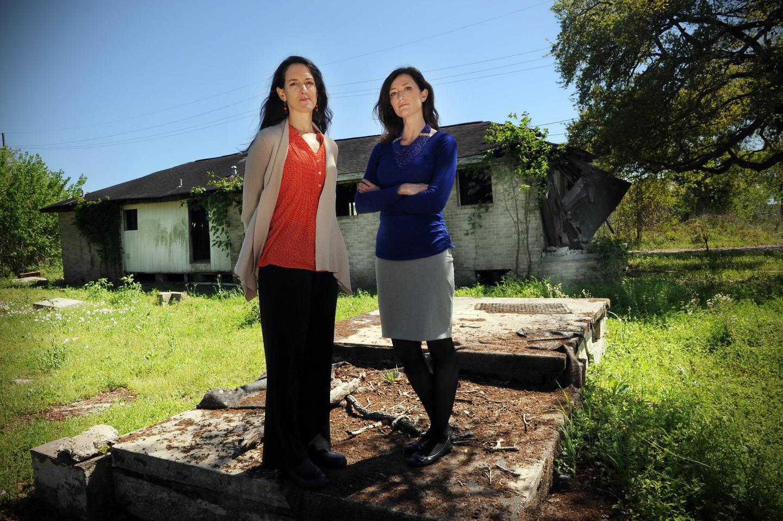 Alice Fothergill (left) and Lori Peek, Authors of Children of Katri