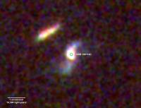 Hubble Image of Afterglow of GRB 190114C