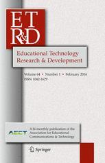 Cover of the Journal <I>Educational Technology Research and Development</i>