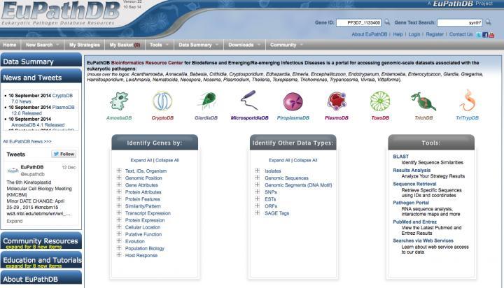Eukaryotic Pathogen Database Research Center
