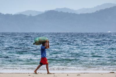 Ocean and Human Beings