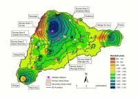 Rainfall Map of Easter Island