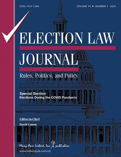 Election Law Journal.