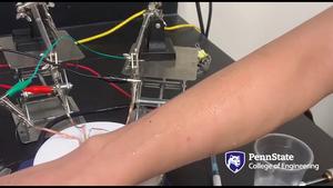 Glucose monitor, no needles