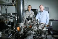 Dr. Xiaopu Zhang and Professor John Boland, AMBER Centre