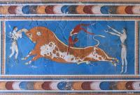 Minoan Bull-Leaping-Fresco