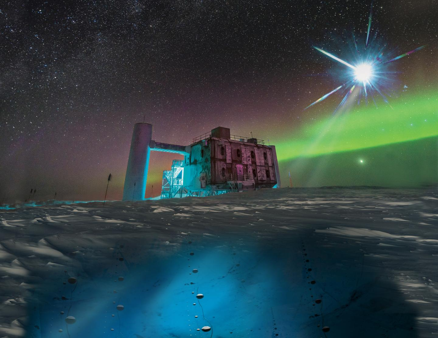 IceCube Neutrino Detection