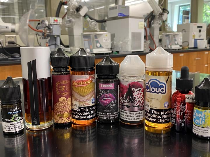 Chemicals in e-cigarettes mix together to form new, unexpectedly toxic compounds