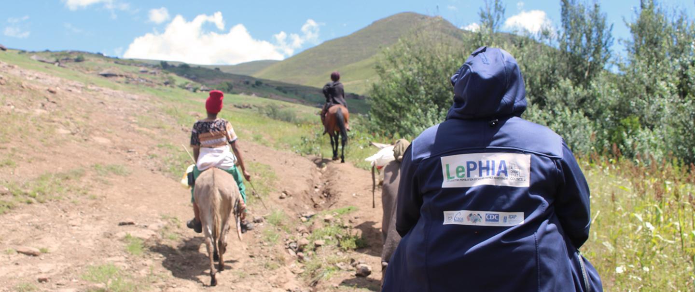 ICAP Survey Workers in Rural Lesotho