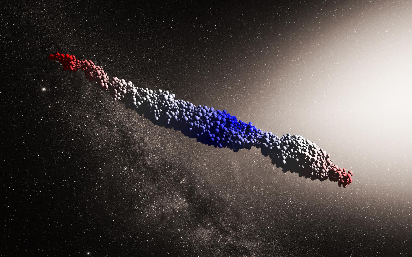 An 'Oumuamua-like object produced by the scenario proposed by ZHANG and Lin