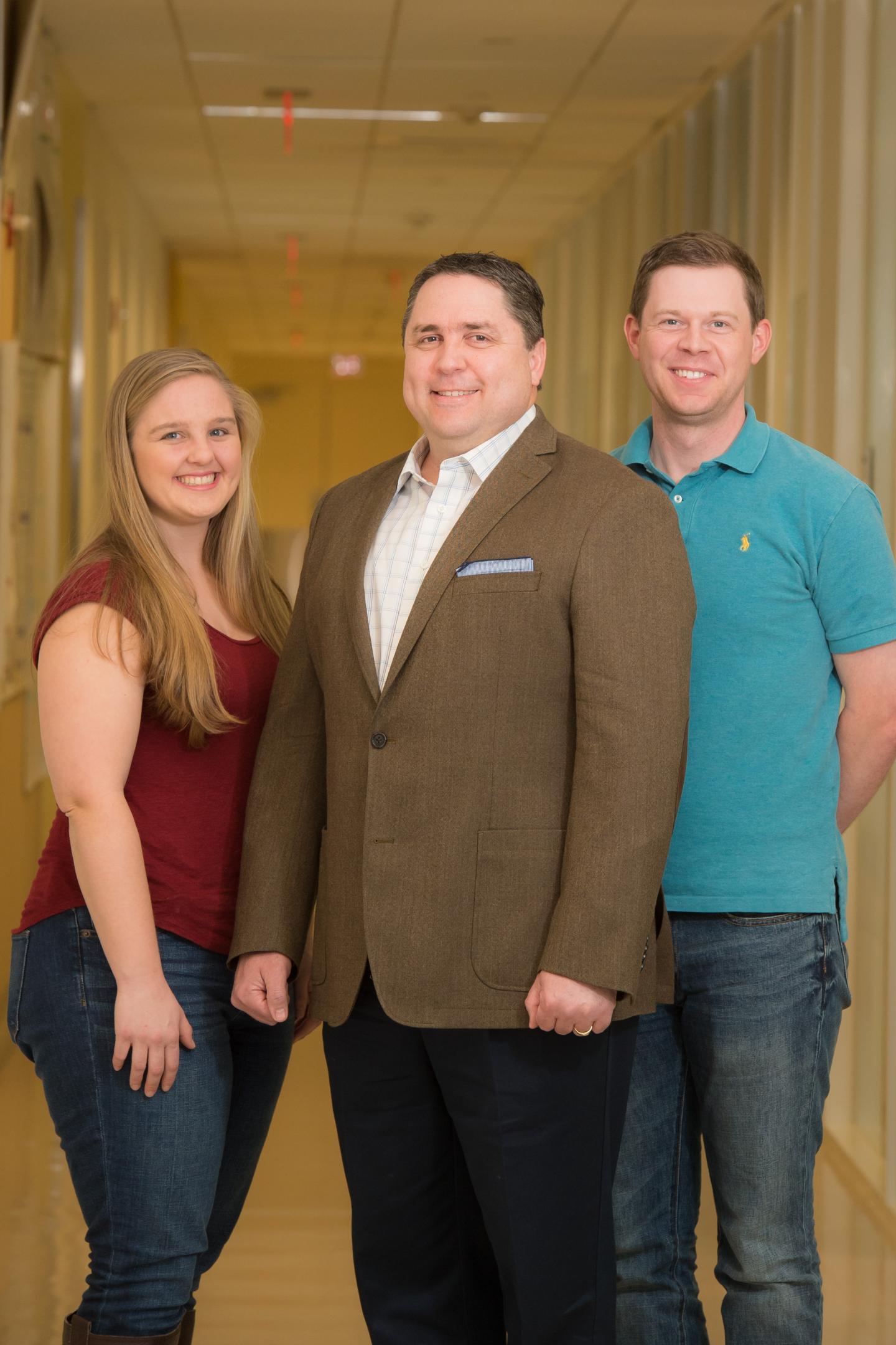 Anna Crumbley, Ramon Gonzalez and James Clomburg, Rice University