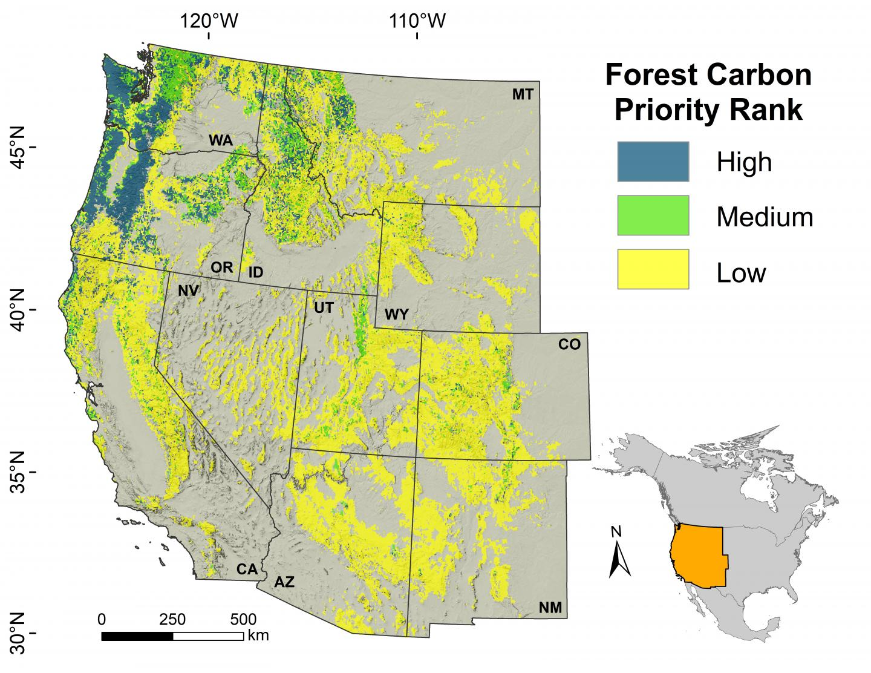 Carbon Sequestration Map