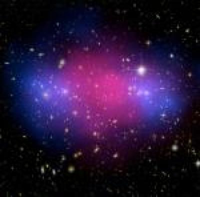 Collision of Clusters from the Hubble Telescope and Chandra Observatory