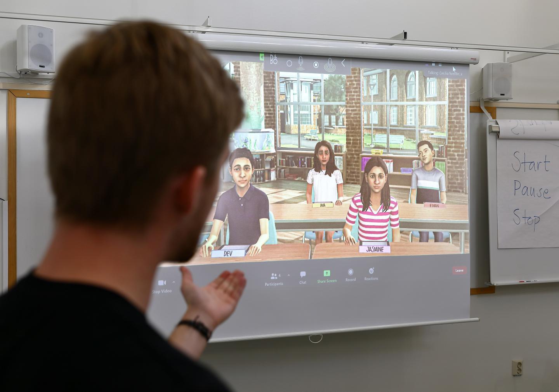 Student Teaching Avatars