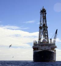 Drillship JOIDES Resolution
