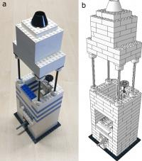 Lego microscope and instructions to build it