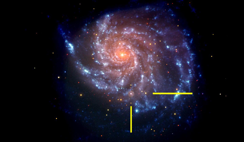 Galaxy M101 After Supernova