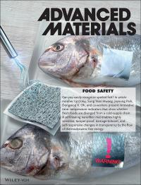 The Cover of Advance Materials