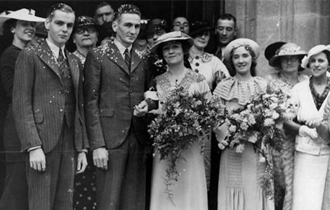 1930s Wedding