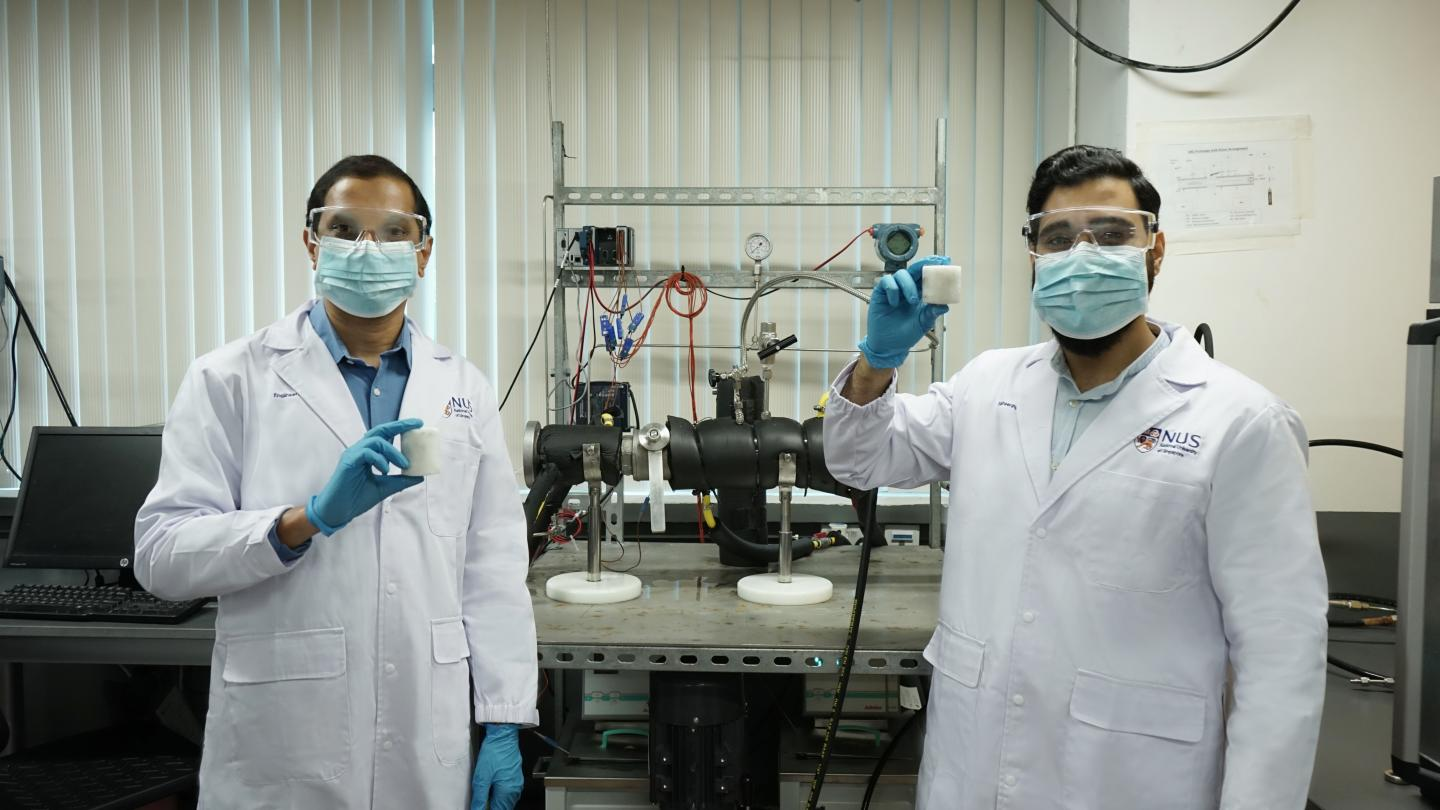 Photograph of research team