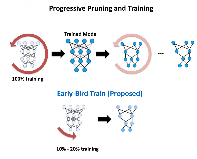 Early Bird DNN Training
