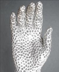 Liquid metal hand