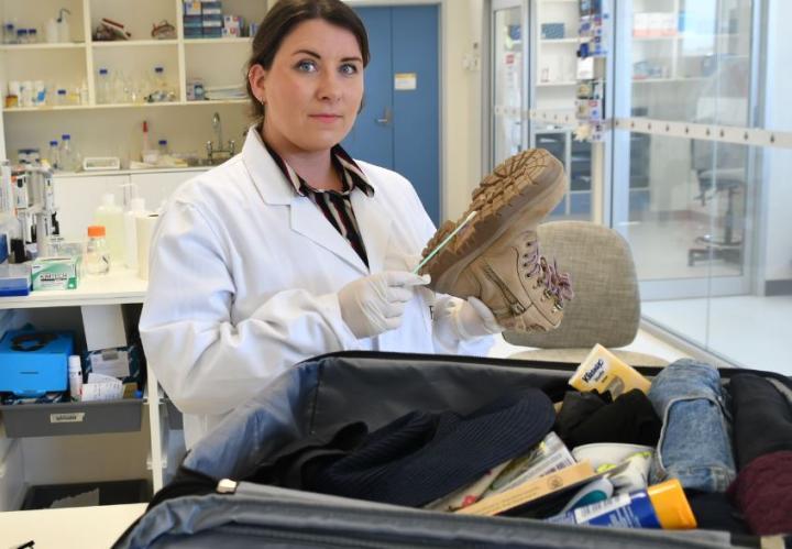 Flinders University forensic DNA technology