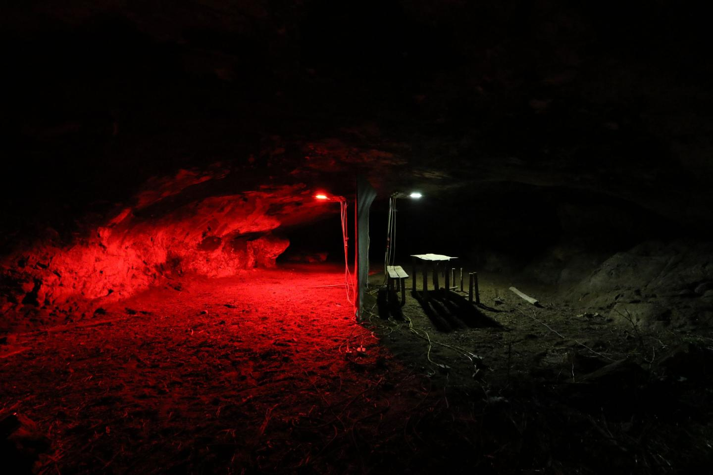 Illumination of Bat Caves
