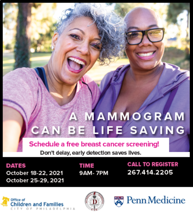 Penn Medicine and Siemens Healthineers Offer Mobile 3D Mammography  Screenings for Underserved Patients During Breast Cancer Awareness Month