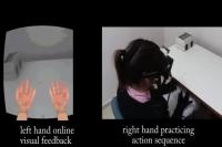 Left Hand Copies Right Hand Movements