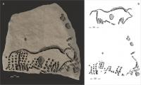Finding of 38,000 Year-Old Engravings Confirms Ancient Origins of Technique Used by Seurat, Van Gogh, Pissarro, and Lichtenstein