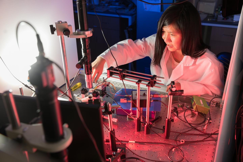 Judith Su in her Little Sensor Lab