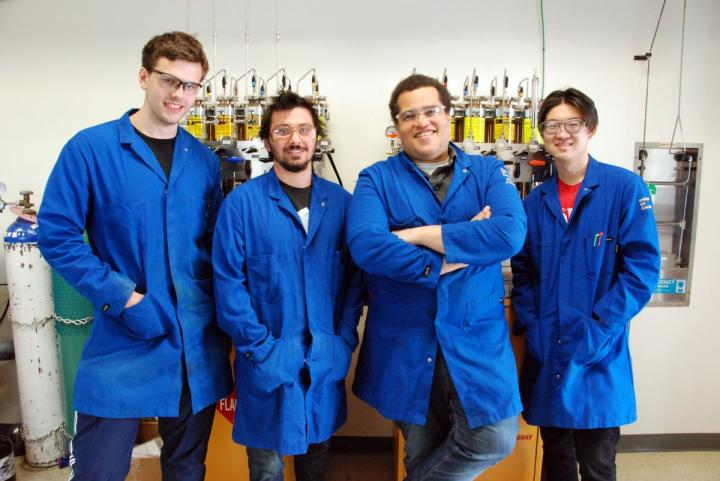 Stasik Popov, Alex Bagdasarian, Hosea Nelson and Brian Shao, University of California - Los Angeles