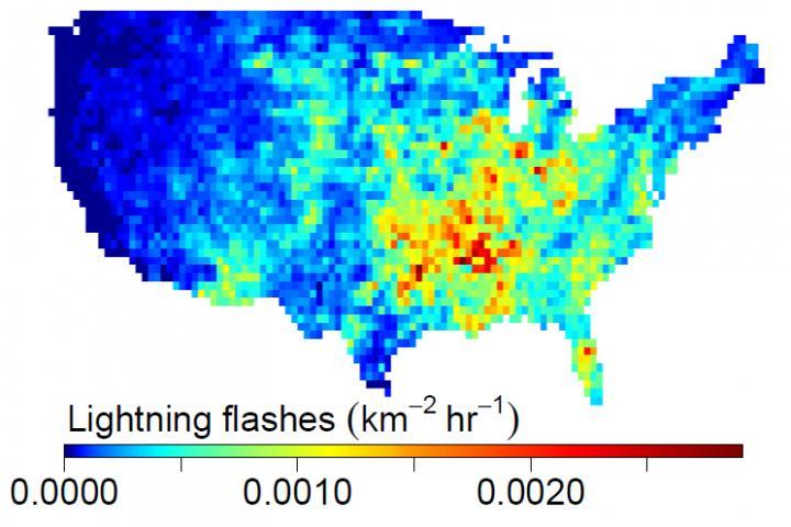 Lightning Strikes Across the US