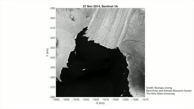 COLD CASE: Breakup of Pine Island Glacier