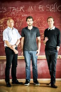 ELSI researchers, Masahiko Hara, Sebastian Sanden & Shawn McGlynn