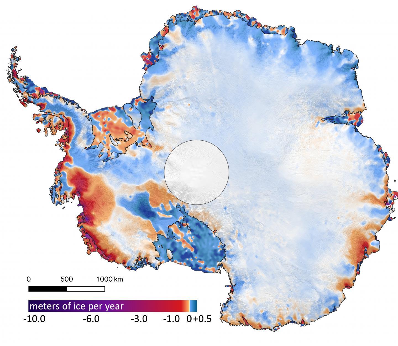 Antarctica Ice Changes