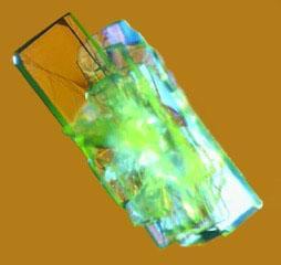 Tellurazole Oxide Crystal, Microscope Photo