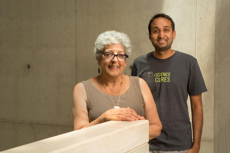 Joanne Chory and Saket Navlakha, Salk Institute
