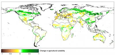 Map Agriculture in the Year 2100