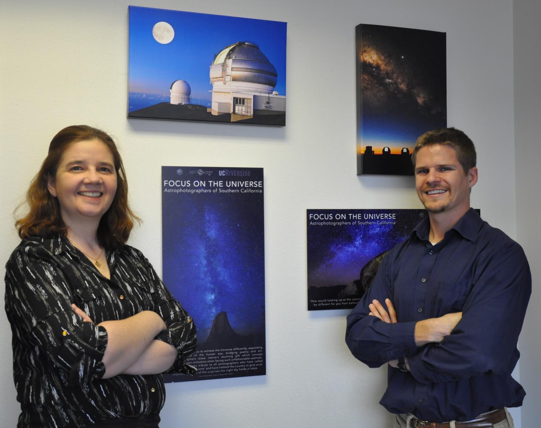 Gillian Wilson and Benjamin Forrest