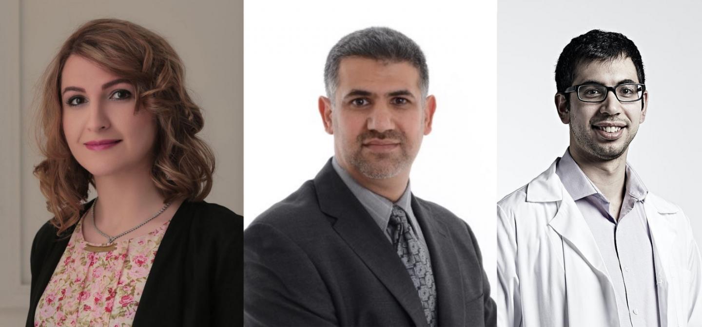 Study first authors: Dr. Parinaz Mehdipour, Dr. Sajid Marhon and Mr. Ilias Ettayebi