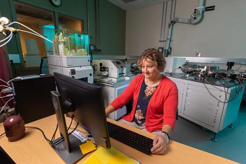Northern Arizona University geochemist Laura Wasylenki