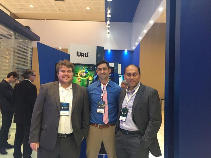 Brunno Attorre, Bill Marino and Soumitra Dutta, Cornell University