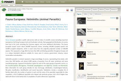 Fauna Europaea Data Paper