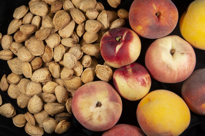 Almonds & Peaches