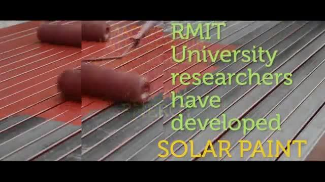 Solar Paint Offers Endless Energy from Water Vapor