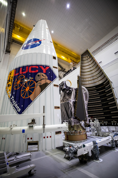 Lucy in Rocket Fairing